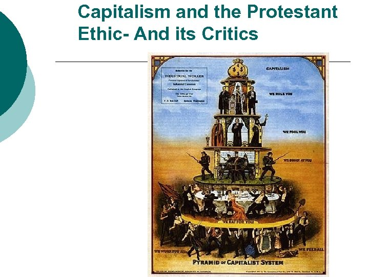 Capitalism and the Protestant Ethic- And its Critics