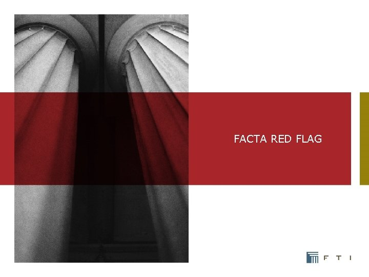 FACTA RED FLAG