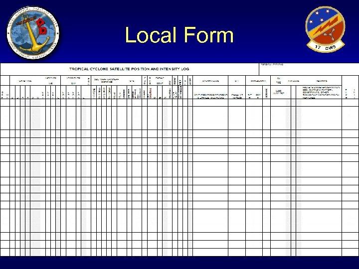 Local Form