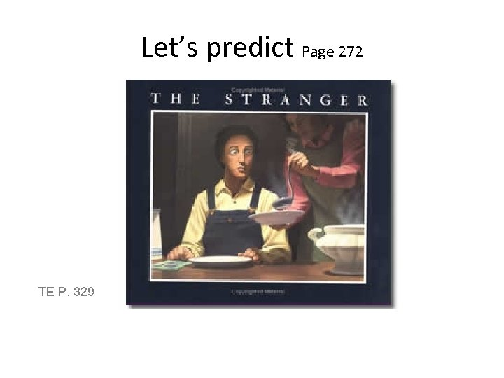 Let's predict Page 272 TE P. 329