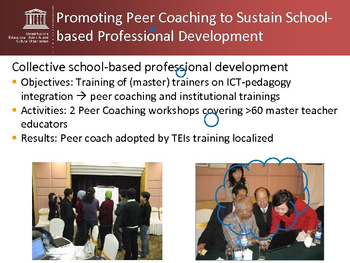 Promoting Peer Coaching to Sustain Schoolbased Professional Development Collective school-based professional development § Objectives: