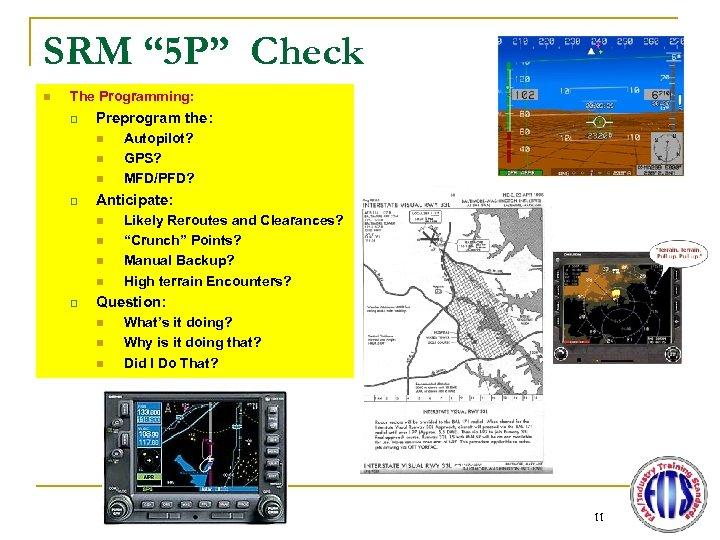 "SRM "" 5 P"" Check n The Programming: q Preprogram the: n n n"