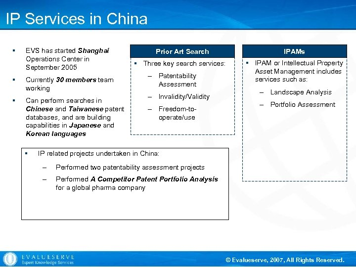 IP Services in China § § § EVS has started Shanghai Operations Center in