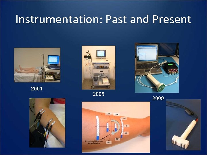 Instrumentation: Past and Present 2001 2005 2009
