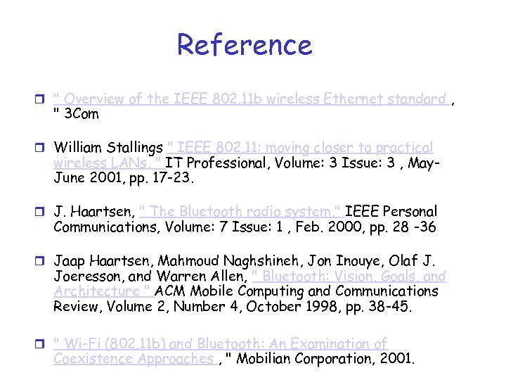 Reference r
