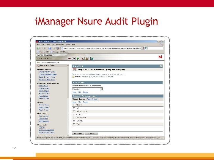 i. Manager Nsure Audit Plugin 10