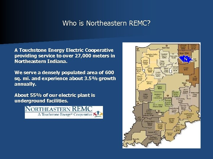 Who is Northeastern REMC? A Touchstone Energy Electric Cooperative providing service to over 27,