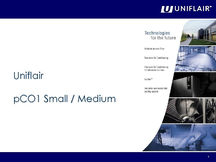 Uniflair p. CO 1 Small / Medium 1