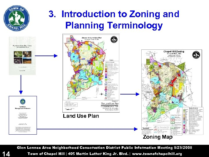 3. Introduction to Zoning and Planning Terminology Land Use Plan Zoning Map Glen Lennox