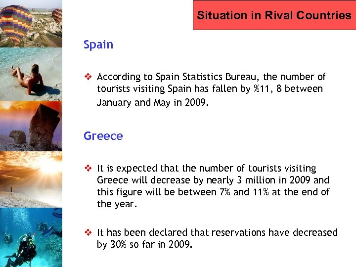 Situation in Rival Countries Spain v According to Spain Statistics Bureau, the number of
