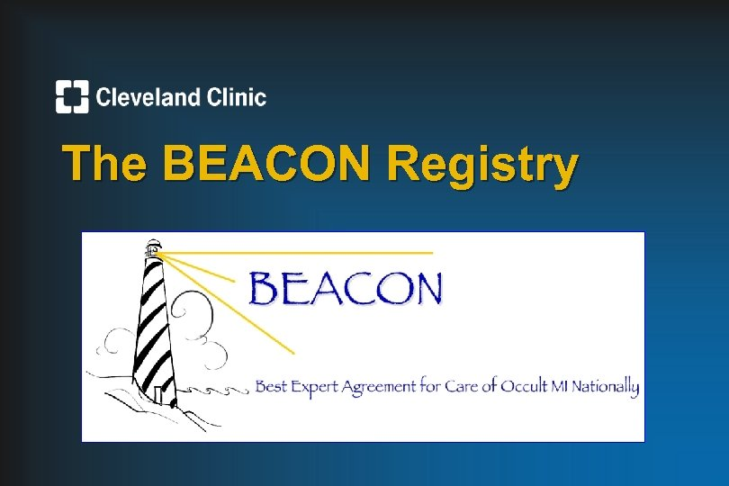 The BEACON Registry