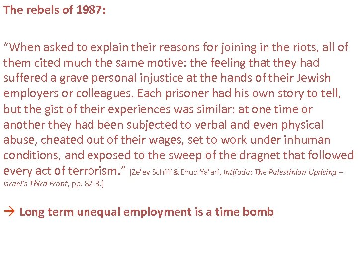 """The rebels of 1987: """"When asked to explain their reasons for joining in the"""