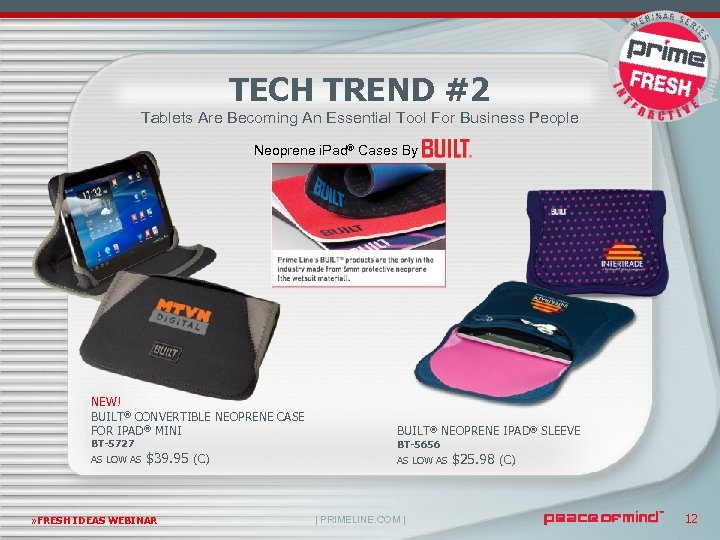TECH TREND #2 Tablets Are Becoming An Essential Tool For Business People Neoprene i.