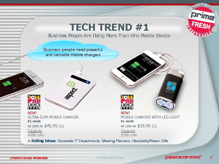TECH TREND #1 Business People Are Using More Than One Mobile Device Business people