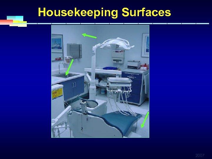 Housekeeping Surfaces 2007