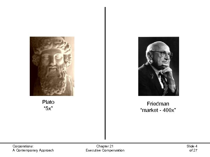 "Plato "" 5 x"" Corporations: A Contemporary Approach Friedman ""market - 400 x"" Chapter"