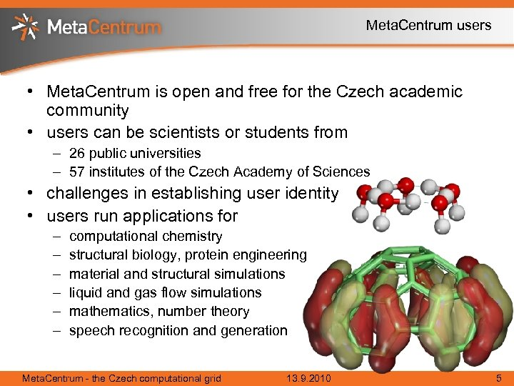 Meta. Centrum users • Meta. Centrum is open and free for the Czech academic