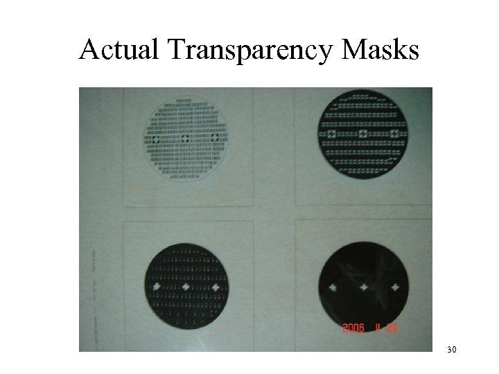 Actual Transparency Masks 30