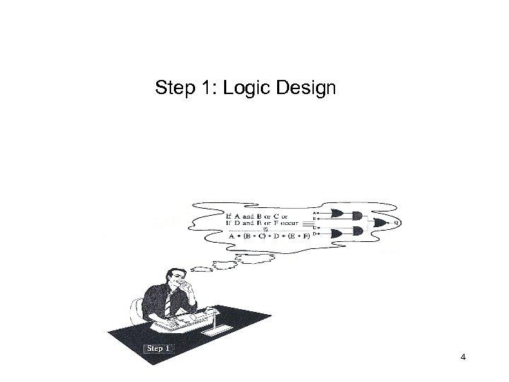 Step 1: Logic Design 4