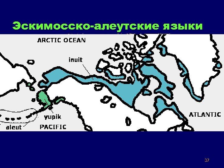 Эскимосско-алеутские языки 37