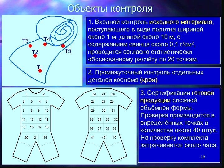 Объекты контроля Т 4 Т 3 Т 2 Т 1 Т 5 1. Входной