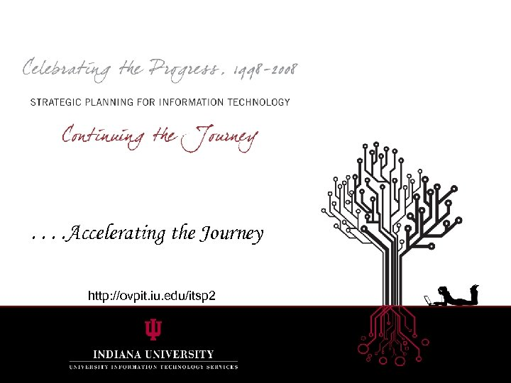 . . Accelerating the Journey http: //ovpit. iu. edu/itsp 2