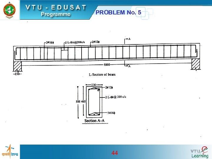 PROBLEM No. 5 44