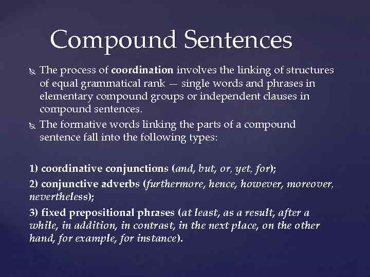 Actual Division Of The Sentence 1 The Notion