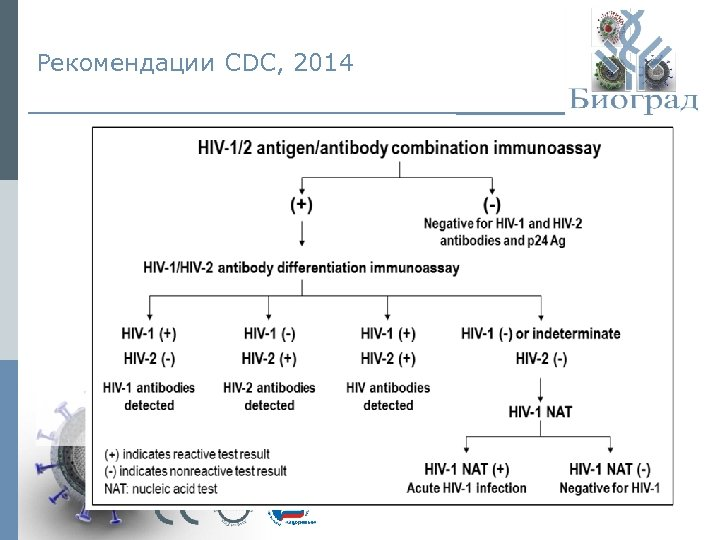 Рекомендации CDC, 2014 © ЗАО «Биоград» , 2015 г.