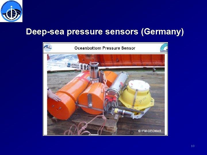Deep-sea pressure sensors (Germany) 10