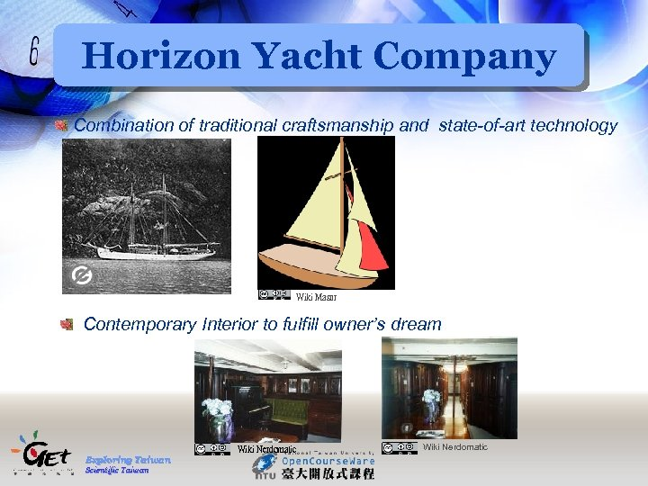Horizon Yacht Company Combination of traditional craftsmanship and state-of-art technology Wiki Masur Contemporary Interior