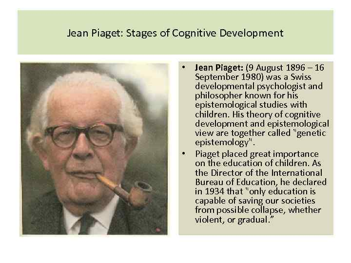 piaget observation Naturalistic observation is observational research that takes place in a natural or everyday setting such as a school usually there is an effort to minimize the observer's impact by carrying out observations secretly or from a hidden vantage point.