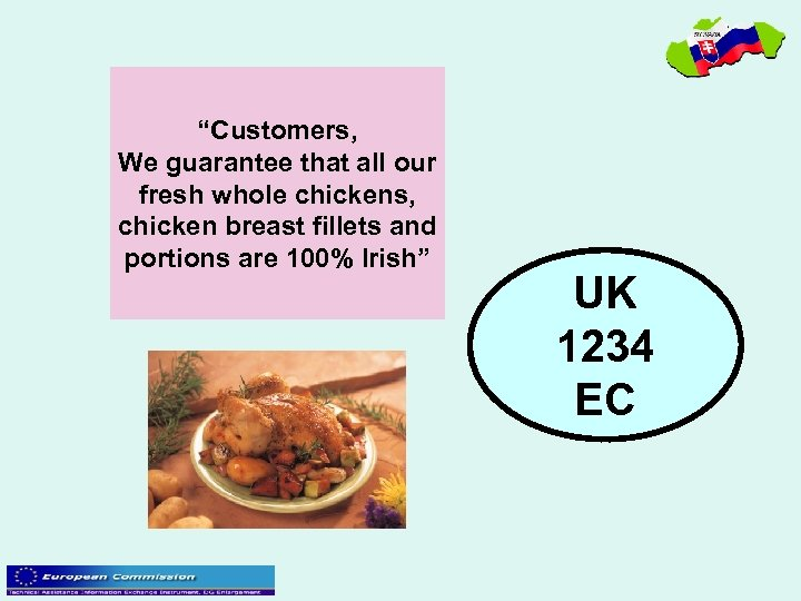"""Customers, We guarantee that all our fresh whole chickens, chicken breast fillets and portions"
