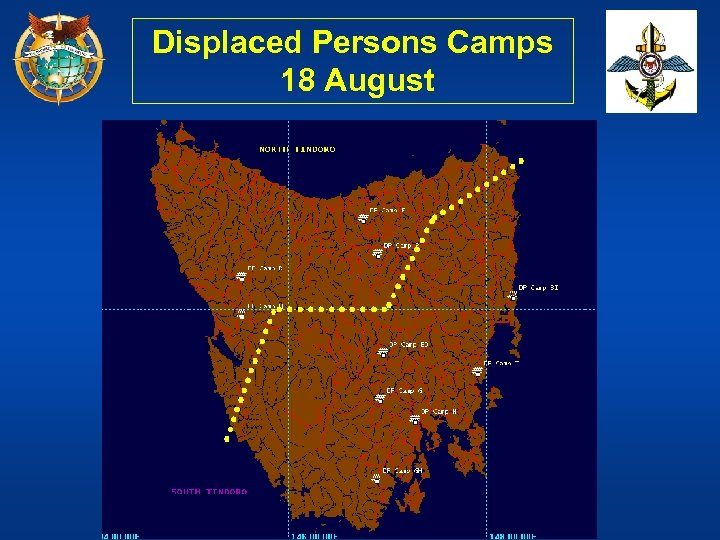Displaced Persons Camps 18 August