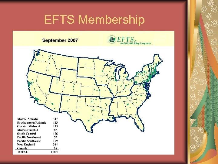 EFTS Membership