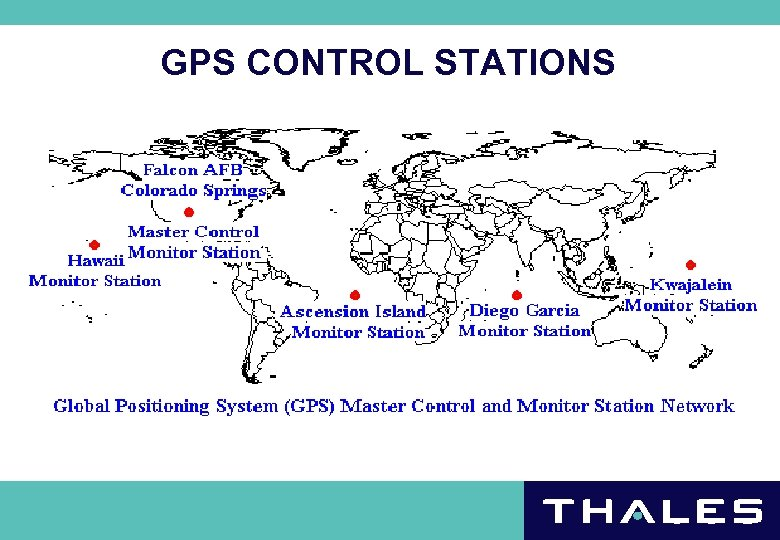 GPS CONTROL STATIONS