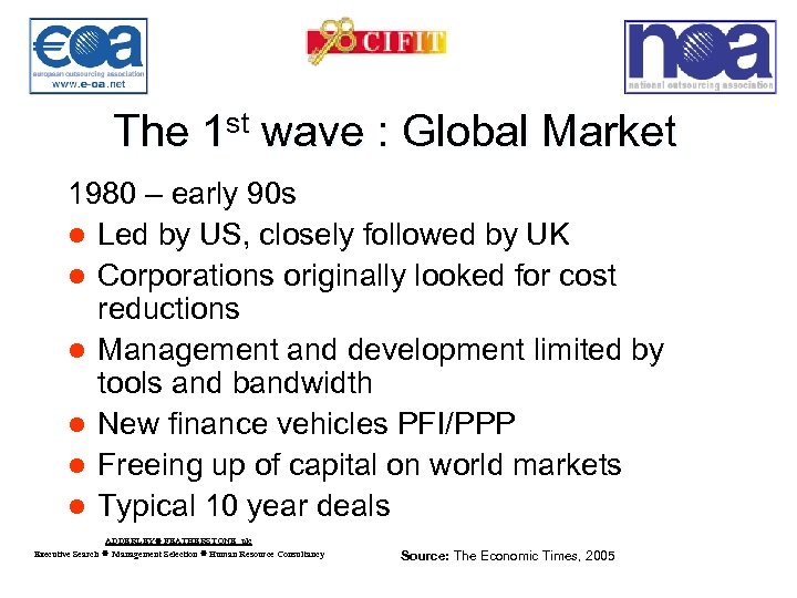 The 1 st wave : Global Market 1980 – early 90 s l Led