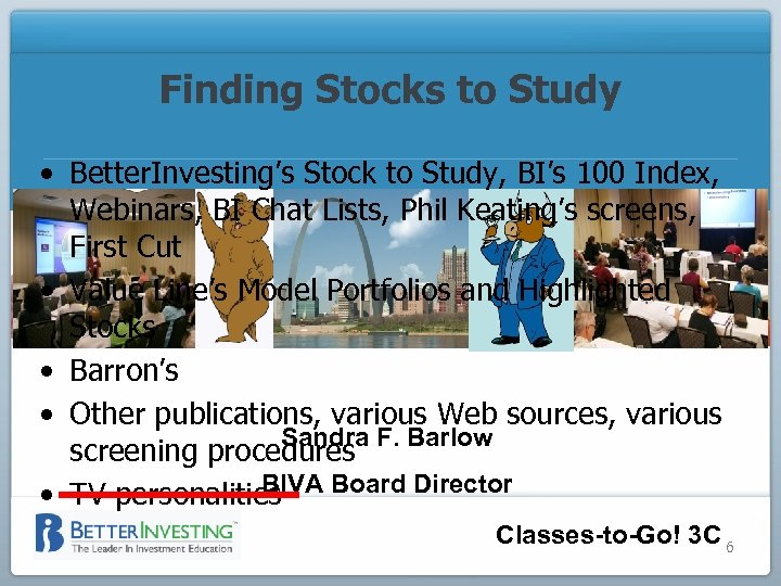 Finding Stocks to Study • Better. Investing's Stock to Study, BI's 100 Index, Webinars,