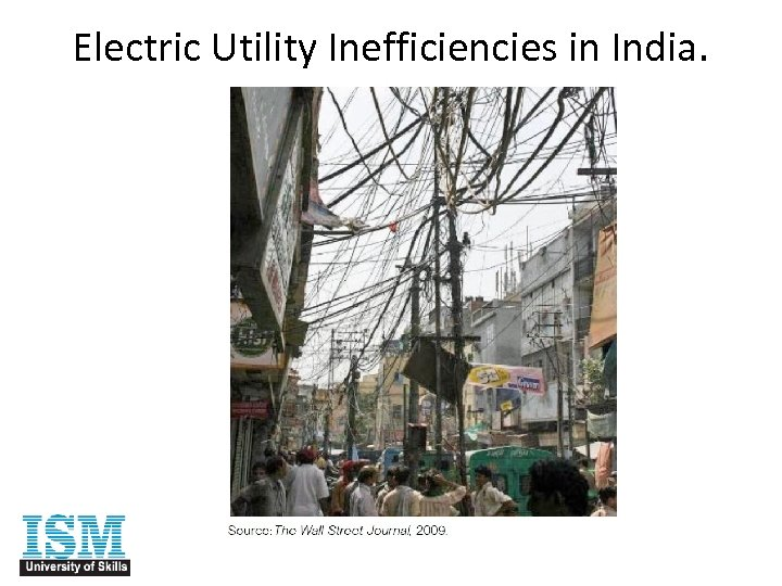 Electric Utility Inefficiencies in India.