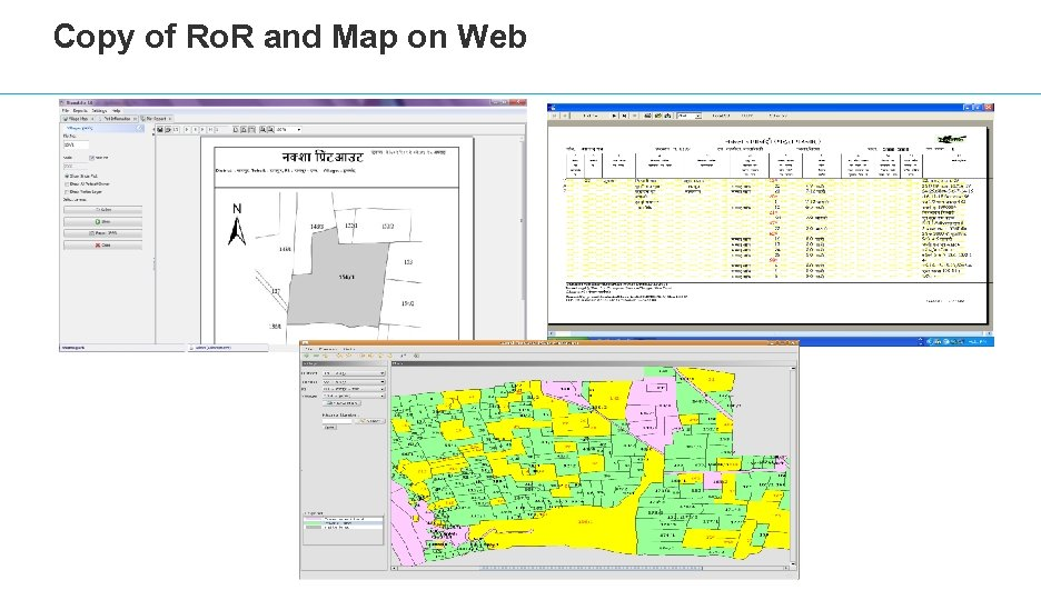 Copy of Ro. R and Map on Web