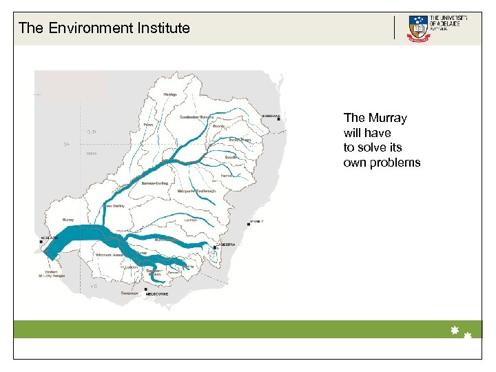 The Environment Institute The Murray will have to solve its own problems Life Impact