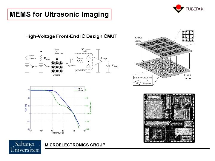 MEMS for Ultrasonic Imaging High-Voltage Front-End IC Design CMUT MICROELECTRONICS GROUP