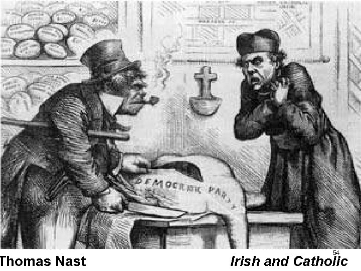 Thomas Nast 54 Irish and Catholic