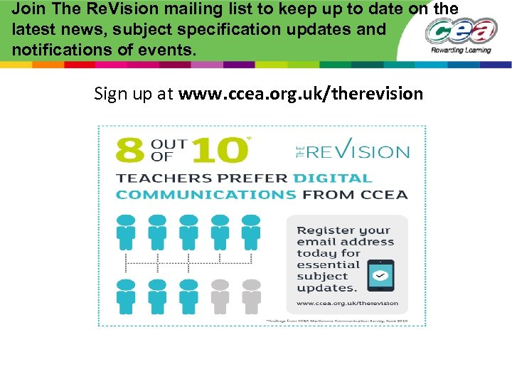 Join The Re. Vision mailing list to keep up to date on the latest