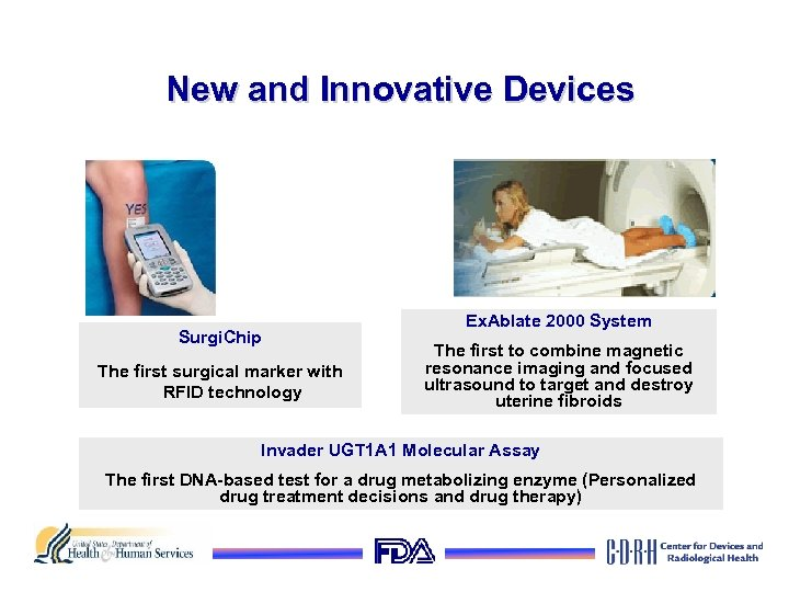 New and Innovative Devices Surgi. Chip The first surgical marker with RFID technology Ex.