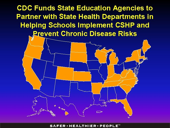 CDC Funds State Education Agencies to Partner with State Health Departments in Helping Schools