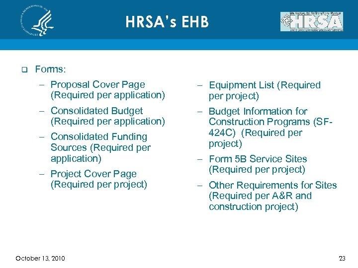 School Based Health Center Capital SBHCC Program HRSA-11