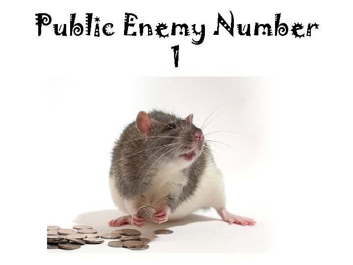 Public Enemy Number 1