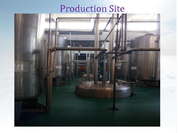 Production Site (Suction Workshop)