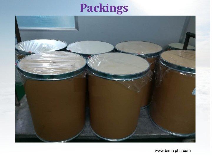Packings www. bimalpha. com
